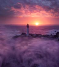 California Lighthouse & Fog Su...