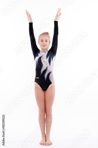 Tuinposter Gymnastiek Turnerin