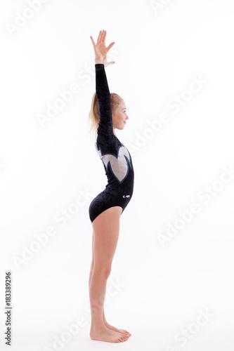 Tuinposter Gymnastiek Turnerin 2