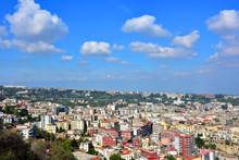 Napoli, Panorama Zona Orientale, Tangenziale E Capodimonte.