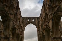 Ruins Of Famous Riveaulx Abbey...