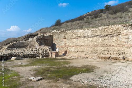 Foto op Aluminium Rudnes Heraclea Sintica - Ruins of ancient Greek polis, located near town of Petrich, Bulgaria