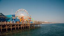 Santa Monica Pier In Los Angel...