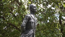 Statue Of Jan Smuts On Parliam...