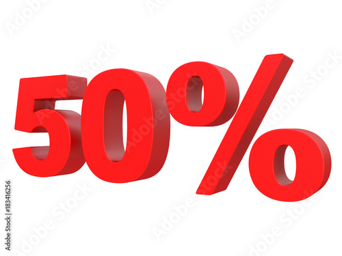Fotografía  percent off