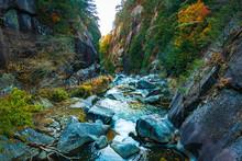 昇仙峡の秋風景2017