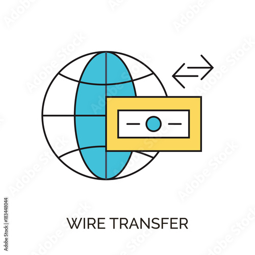 wire transfer icon - Buy this stock vector and explore similar ...