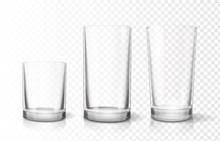 Transparent Glasses Goblets Se...