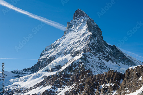Matterhorn at Zermatt, Switzerland Canvas Print