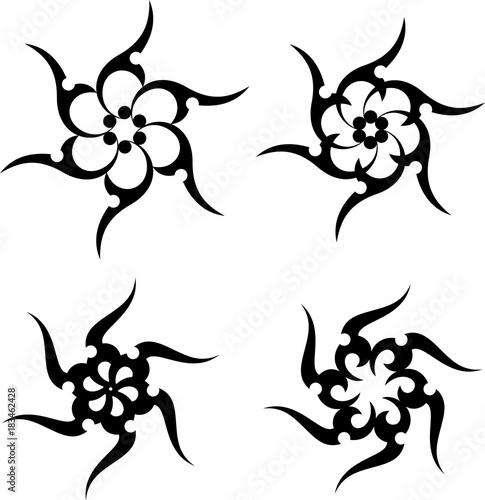 91e5e77da Sun Tribal Tattoo Design - Buy this stock vector and explore similar ...
