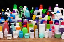 Set Of Usual Plastic Bottles F...