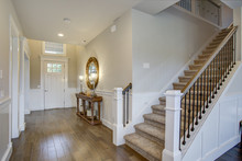 Fabulous Foyer Features A Stai...