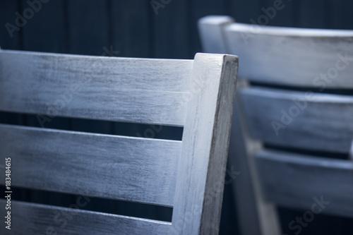 Leere Stühle Canvas Print