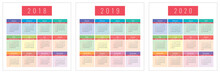 Colorfull Calendar Coolections...