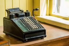 Vintage Calculator Machine
