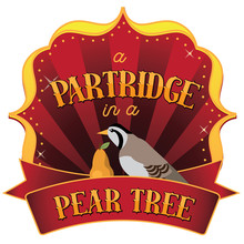 Retro Marquee Of A Partridge I...