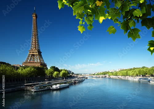 Poster Tour Eiffel Eiffel tower, Paris. France