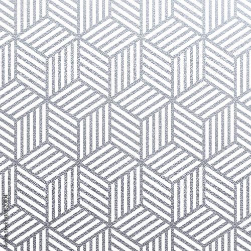 geometryczny-srebro-3d-szesciany-bezszwowy-wzor-z-blyskotliwosci-tekstura-abstrakcjonistyczne-tkane-linie-na-bialym-tle-wektor-srebny