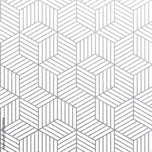 geometryczny-srebro-3d-szescianow-bezszwowy-wzor-z-blyskotliwosci-tekstura-abstrakcjonistyczna-kreskowa-siatka-na-bialym-tle-wektor-srebny-blyskotliwy-ornament-dla-tkanej-tkaniny-plytki-lub-nowozytnego-tla-swatch-projekta