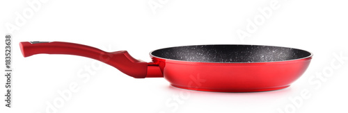 Frying pan isolated on white background