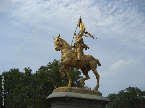 Photo Joan of Arc statue at Philadelphia - USA
