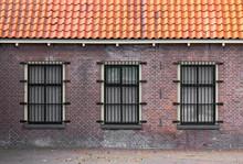 Barred Windows In A 19th Centu...