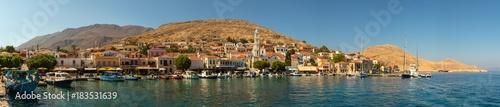 Fototapety, obrazy: Rhodos, Griechenland, Chalki