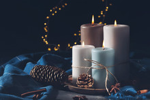 Candles For Cold Weather. Chri...