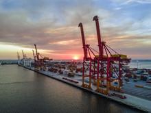 Fremantle Harbour Sunset