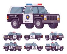 Sheriff Off-road Car