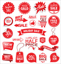 Super Sale Badges And Labels V...