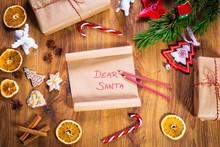 Christmas Letter To Santa Clau...