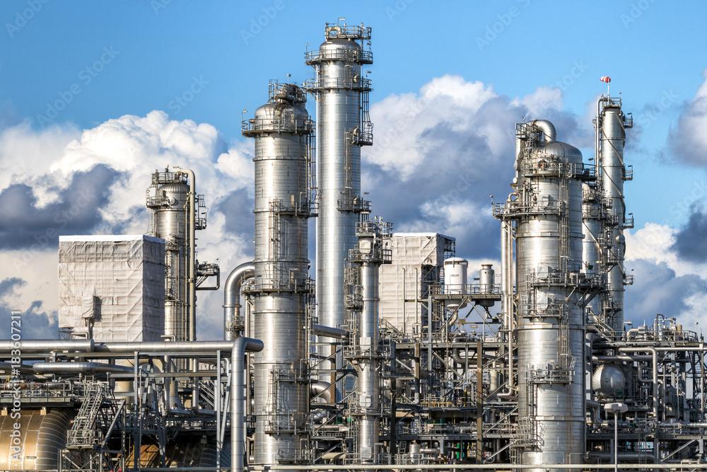 Fototapety, obrazy: Oil refinery industry
