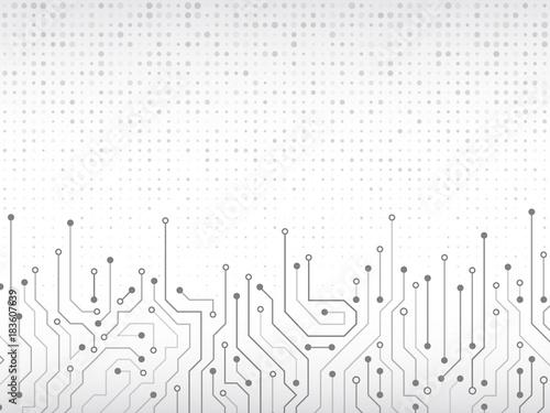 High-tech technology background texture Fototapet
