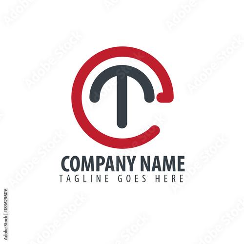 Photo  Initial Letter Et Design Logo