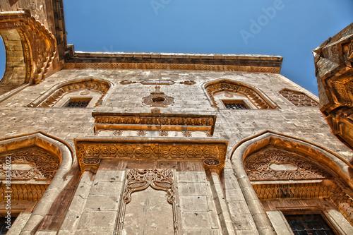 Plakat wschodniej anatolii turcja pałac isakpaşa doğubeyazıt