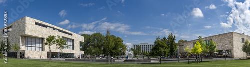 Fotografie, Obraz Campus der Uni Frankfurt