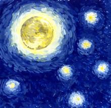 Starlight Night / Background, ...