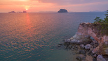 Buffalo Nose Cape Is Mean Hole In The Cape Look Like Nose Of Buffalo Location Is In Thalane Krabi Can Go There By Boat. Buffalo Nose Cave Have A Small Beach When High Tide The Beach Is Flooded