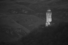 William Wallace Monument Black & White
