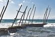 Umak Istrien Kroatien Strand in Savudrija.
