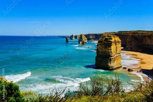 Fotomural The Twelve Apostles on the Great Ocean Road, Australia