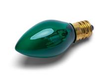 Green Christmas Bulb