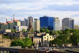 Fototapeta Miasto - panorama Łodzi