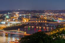 Skyline Of Pittsburgh, Pennsyl...