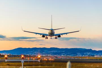 Lądowanie na lotnisku