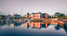View Of Inner Harbour Of Victoria, Vancouver Island, B.C., Canada