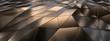 canvas print picture - Background Metallfacetten 3