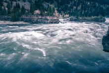 Kootenai River Water Falls In ...