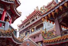 Guandu Temple In Taipei, Taiwan 台北の關渡宮